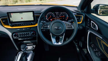 Kia XCeed 1.4 petrol - dash