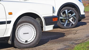 Nissan Bluebird vs Nissan Qashqai - wheels
