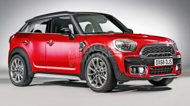 MINI Countryman Coupe - front (watermarked)