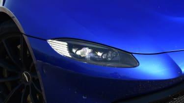 Aston Martin Vantage headlight