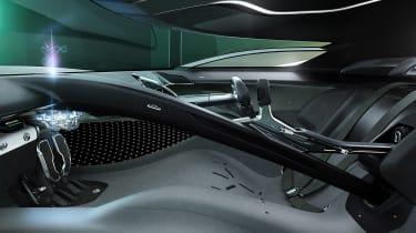 Jaguar Vision GT concept - interior
