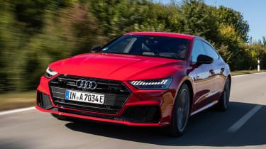 Audi A7 Sportback 55 TFSI e - front tracking