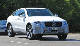 Mercedes GLC Coupe spied - front