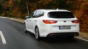 Kia Optima GT - rear action