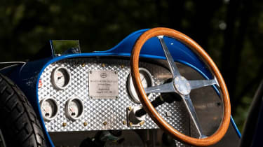 Bugatti baby Type 35 - wheel