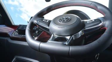 Volkswagen up! GTI steering wheel