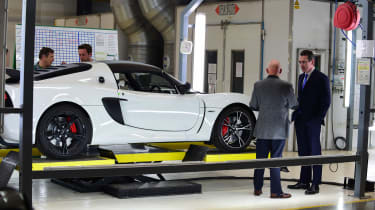 Best of British - Lotus - Evora factory