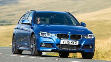BMW 3 Series Touring - front cornering