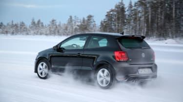 Volkswagen Polo R black rear