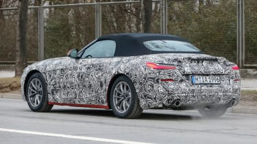 New BMW Z4 action rear