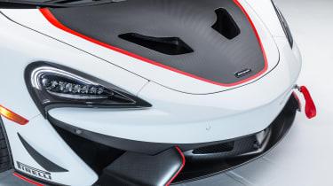 McLaren MSO X - bonnet