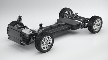 Volvo V40 exclusive images - platform