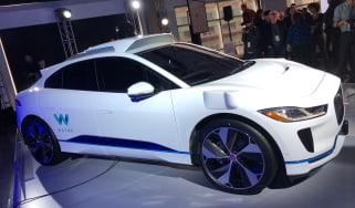 Jaguar Waymo I-Pace - reveal front