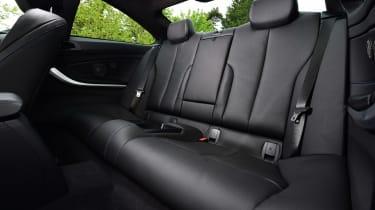BMW 420d M Sport - rear seats