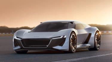 Audi PB18 e-tron concept - front static