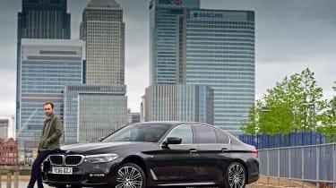 BMW 5 Series long termer - first report header