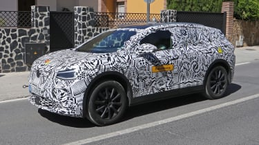 Volkswagen ID.4 SUV - spied - front 3/4 tracking