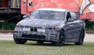 BMW 5 series spy - front