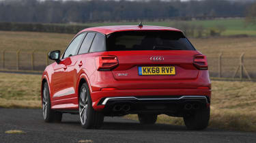 Audi SQ2 - rear cornering
