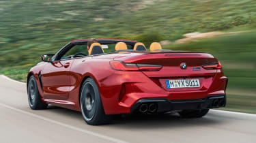 BMW M8 Competition Convertible - rear