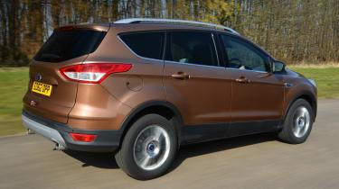 Ford Kuga Titanium 2.0 TDCi rear tracking