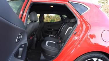 Kia Cee'd - rear seats