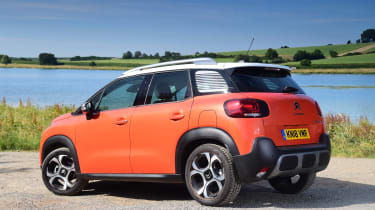Citroen C3 Aircross - rear static