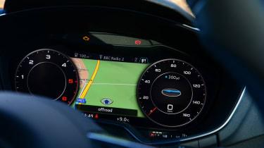Audi TT Ultra - dials