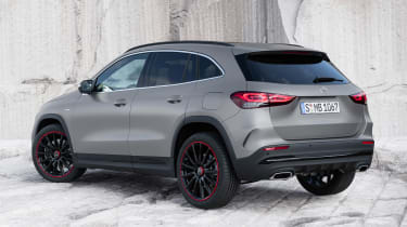 Mercedes GLA - rear static