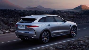 Jaguar F-Pace SVR - rear