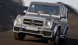 Mercedes G63 AMG front cornering