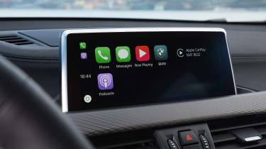 2018 BMW X2 - infotainment