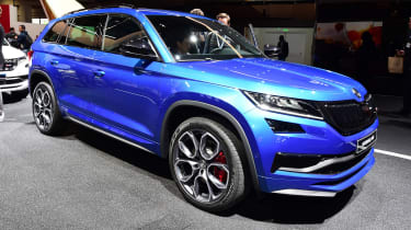 Skoda Kodiaq vRS - front/side Paris