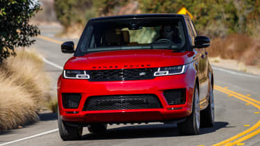 Range Rover Sport PHEV - front tracking