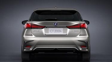 2018 Lexus CT facelift rear