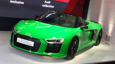 Audi R8 Spyder V10 Plus - Goodwood reveal front