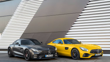 Mercedes-AMG GT C Edition 50 & AMG GT S 2017 - front