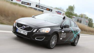 Volvo driverless cars