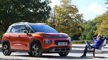 Citroen c3 aircross static