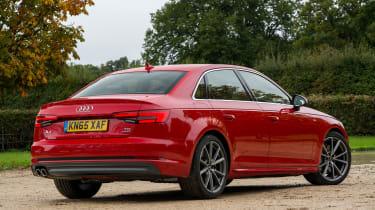 Audi A4 S Line - rear static
