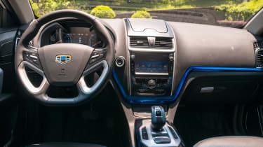 Emgrand EV 2016 - interior