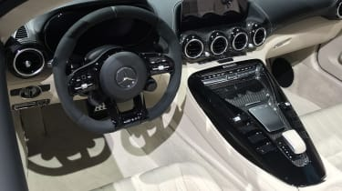 Mercedes-AMG GT R Roadster - Geneva interior