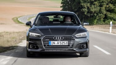 Audi A5 Sportback - full front action