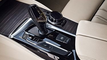 New BMW 5 Series Touring - centre console