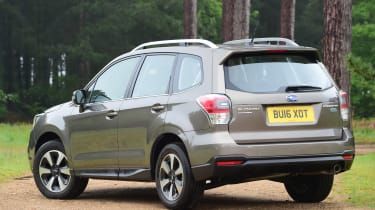 Subaru Forester - rear static