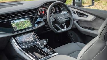 Audi SQ7 - cabin