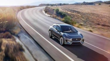 Jaguar I-Pace - front scenic