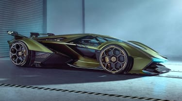 Lamborghini Lambo V12 Gran Turismo - side static