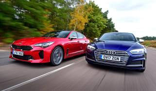 Kia Stinger vs Audi S5 - header