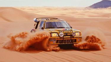 Peugeot Sport - 205 Turbo 16 Dakar